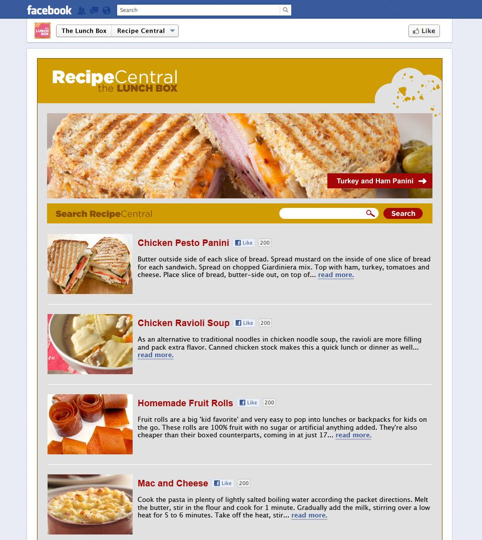Lunch Box App